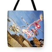Floating On Blue 29 Tote Bag
