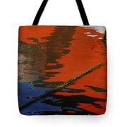 Floating On Blue 26 Tote Bag