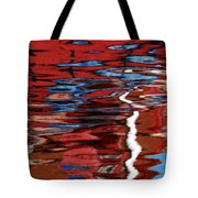 Floating On Blue 28 Tote Bag