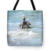 Floating Peacefully Tote Bag