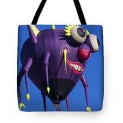 Floating Purple People Eater Tote Bag