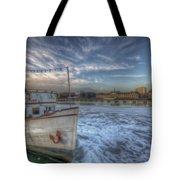 Floating Restaurant Tote Bag