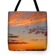 Floating Sunset Tote Bag