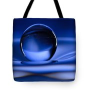Floating Water Drop Tote Bag