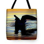 Floating Wings Tote Bag