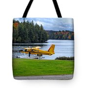 Floatplane In Fall Tote Bag