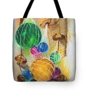 Floats And Nets Tote Bag