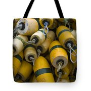 Floats Used In Crab Fishing Tote Bag