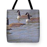 Flock Of Five Tote Bag