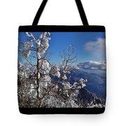 Flocked Pinon Tote Bag