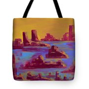 Flooded Canyon Tote Bag