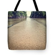 Flooded Road Tote Bag