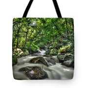 Flooded Small Stream  Tote Bag