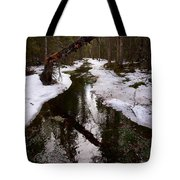 Flooding Forest Tote Bag