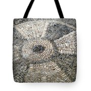 Floor Of Shells Tote Bag