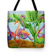 Floosie Flamingos Tote Bag