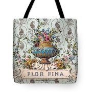 Flor Fina Tote Bag