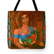 Flora - Goddess Of The Seeds Tote Bag