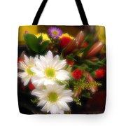 Flora Radiant Tote Bag
