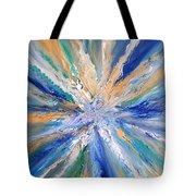 Star Bursting Tote Bag