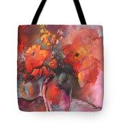 Floral 01 Tote Bag by Miki De Goodaboom