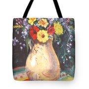 Floral 15 Tote Bag