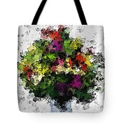 Floral A3 Tote Bag