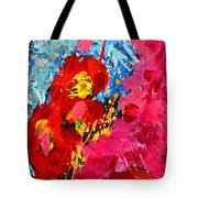 Floral Abstract Part 1 Tote Bag