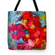 Floral Abstract Part 3 Tote Bag