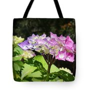 Floral Art Photography Pink Lavender Hydrangeas Tote Bag