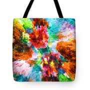 Floral Art Xiii Tote Bag