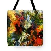 Floral Art Xiv Tote Bag