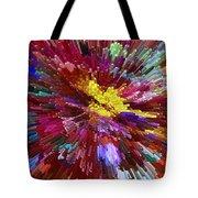 Floral Art Xxiv Tote Bag