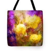 Floral Art Xxxxv Tote Bag