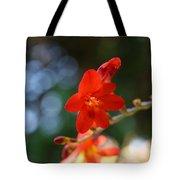 Floral Bokeh  Tote Bag