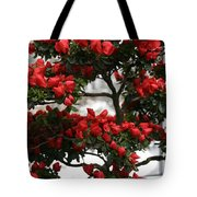 Floral Bonsai Tote Bag