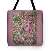 Floral Burst Tote Bag