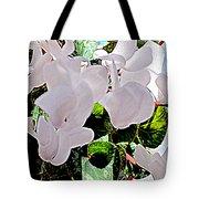 Floral Clouds Tote Bag