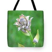 Floral Crown Tote Bag