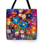 Floral Dance Fantasy Tote Bag