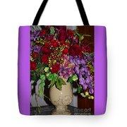 Floral Decor Tote Bag