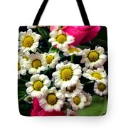 Floral Decoration Tote Bag