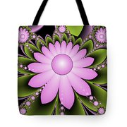 Floral Decorations Tote Bag