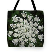 Floral Disc Tote Bag