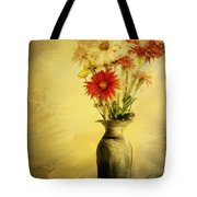 Floral Expression  Tote Bag