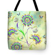 Floral Flirty And Fun  Tote Bag