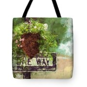 Floral - Flowers - One Way Tote Bag