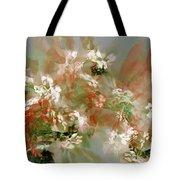 Floral Fractal 030713 Tote Bag