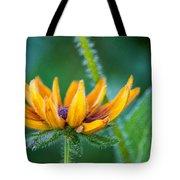 Floral Fuzz Tote Bag