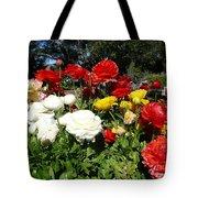 Floral Gardens Tote Bag